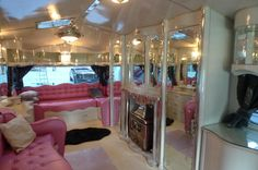"Retro camper from ""The Vintage Trailer""   - the ULTIMATE glamping rv!"