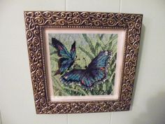 counted cross stitch - butterfly - 2008