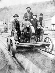Waxwings to Philadelphia Gandy Dancer, Golden Spike, Railroad History, Pennsylvania Railroad, Railroad Photography, Rail Car, Train Tracks, Historical Photos, Train