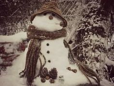 I made a snowman after many years... I felt child again...:) 2017 snowing in greece!
