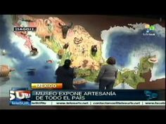 ▶ Museo de Arte Popular expone artesanía de todo México - YouTube