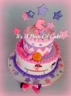 Gymnastics Cake - Cake by Rebecca - CakesDecor