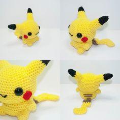 Pikachu by Heartstringcrochet.deviantart.com on @deviantART
