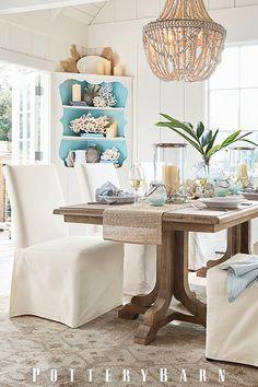 Bring home the beach and turn any space into a summer stunner with under the sea accents.