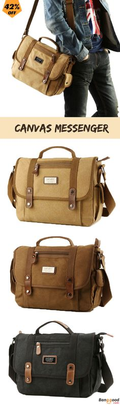 US$35.0 + Free Shipping. Canvas Bag, Casual Bag, Business Bag, Business Handbag, Street Style, Outdoor Bag, Shoulder Bag, Messenger, Weekender. Color: Khaki, Black, Coffee. 	Shop Now and Get it with 42% Off!