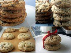 Levain copycat Chocolate Chip Cookies via parsleysagesweet.com