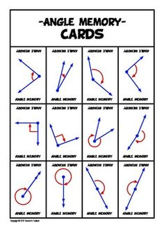 1000+ images about Math for kids on Pinterest | Geometry games, Angles ...