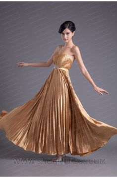 charming dress #prom #gold #gowns