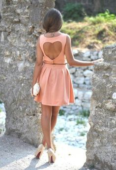 Romantic Date Outfit Valentine's Day Dress