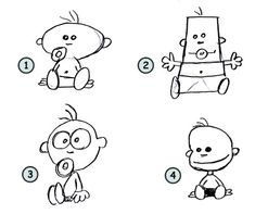 easy cartoon characters - Google Search