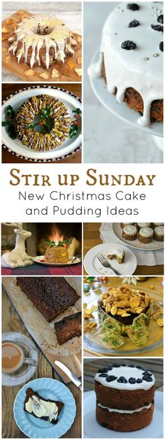 #stirupsunday Some new cake & pudding ideas to make for Christmas #raw #onepot #glutenfree #minicakes #christmas
