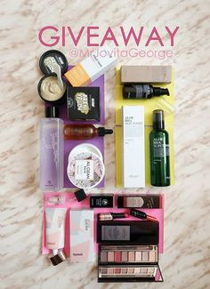 """😍GIVEAWAY😍  You asked for it! So here is is! We're having another giveaway! This time with the lovely MrJovitaGeorge! 👄  Let's hear what she has to offer!  """" Hey my loves, I'm teaming up with @stylekorean_global to giveaway some of my favorite Korean beauty products to you.   I'm giving away the benton set, the products on yellow background to my Facebook Family. We will pick 2 winners, and the giveaway is open worldwide! You can win the other products shown in the picture on Instagram…"""