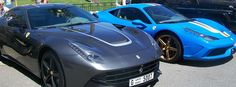 supercars hunters - Ferrari F12 Berlinetta and Ferrari 458 Speciale
