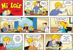 Hi and Lois Comic Strip for September 07, 2014