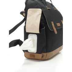 Robyn Diaper Bag - The Project Nursery Shop - 4 Black Diaper Bag, Baby Diaper Bags, Luxury Diaper Bag, Hospital Bag Essentials, Minimalist Baby, Over The Shoulder Bags, Baby Necessities, Diaper Bag Backpack, Baby Accessories