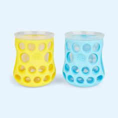 Natural Drinking Cups - 2 Pack, Cognikids Cups and Beakers, Blue Baby Boy Fashion, Drinking, Candle Holders, Cups, Finding Yourself, Packing, Childcare, Baby Ideas, Natural
