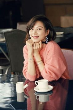 Senyuman Park Soo Jin Park Soo Jin