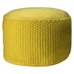 Privet House at Target® Lemon Rope Pouf - Large.Opens in a new window