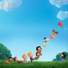 """""""Happy Kite Flying Day from the @peanutsmovie! #peanutsmovie"""""""