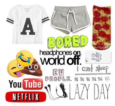"""Me most of the time XD"" by live-your-life638 ❤ liked on Polyvore featuring H&M, Aéropostale, Living Royal and Casetify"