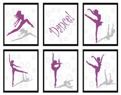 Ballet Dancer Teen Dance Art Tween Room by ImagineThatOriginals, $50.00