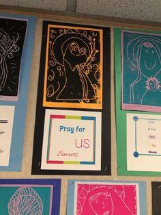 Mary And Jesus, Prayers, Blessed, Frame, Decor, Decoration, Decorating, A Frame, Dekorasyon