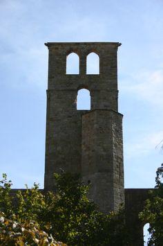 Monastery ruins at Alet les Bains