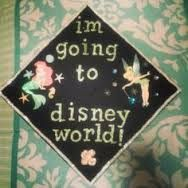 Disney graduation cap idea