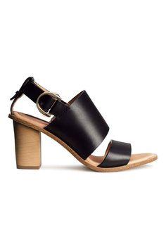 Sandalias de piel   H&M