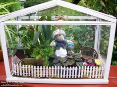 Miss Millicent Mouse's Greenhouse