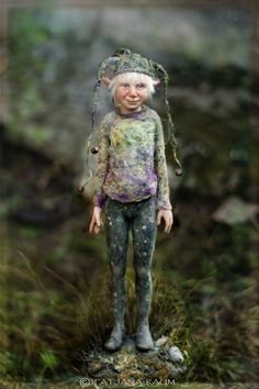 Pixie boy Timmy Artdolls by Tatjana Raum