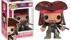 """Jack Sparrow """"Piratas do Caribe"""" - Série Pop Vinyl << Eu quero!!"""