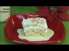 Bizcocho de Coquito Boricua- Puerto Rican Coquito Cake in Spanish and English.  Spanish comes first.
