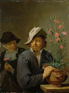 Smell by David Teniers the Younger c. 1640