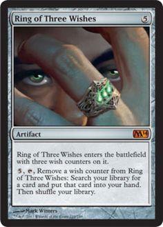 mtg-Magic-2014-1x-Ring-of-Three-Wishes-x1-Magic-the-Gathering-mythic-rare-card