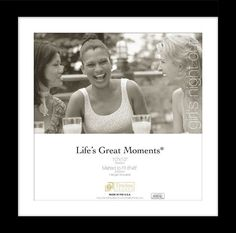 Life's Great Moments Matted Wall Picture Frame