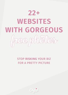Now 43+ of the best free stock photo websites for your blog and business. (Regularly updated! Pin and bookmark for later.)
