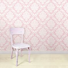 Wallpops! Nuwallpaper Ariel Peel & Stick Wallpaper In Pink