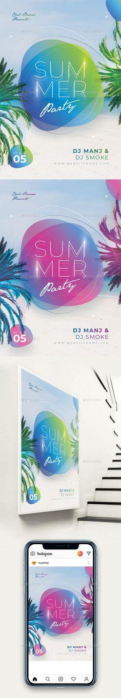 Creative Colorful Summer Party Flyer #splash #beach Dj Party, Party Flyer, Club Parties, Summer Parties, Myrtle Beach Hotels, Fitness Flyer, Restaurant Flyer, Christmas Flyer, Psd Flyer Templates