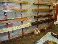 Mantels: Rustic Reclaimed Wood Mantels