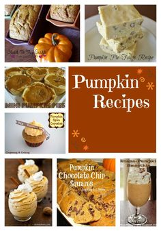 Whether you used canned pumpkin or fresh puree, here are a few terrific Pumpkin Recipes to get you inspired for the season!