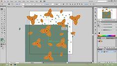 Стрим по бесшовным текстурам в Adobe Illustrator