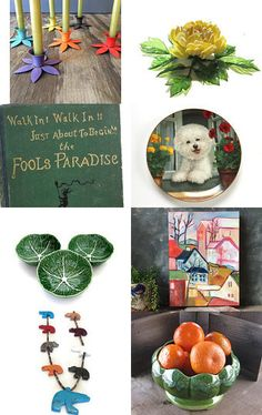 Garden Paradise Wedding by Laura on Etsy--Pinned with TreasuryPin.com