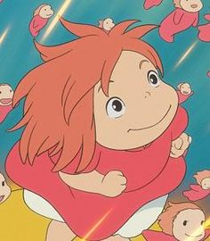 Ponyo. Princess of the sea. Another nonDisney film. :-)