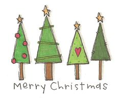 Cute Christmas Tree Doodle