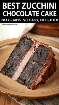 Gluten Free Desserts, Dairy Free Recipes, Vegan Desserts, Just Desserts, Delicious Desserts, Dessert Recipes, Cake Recipes, Gluten Free Cakes, Paleo Dessert