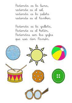 Canción para trabajar el círculo Ficha en blanco y negro para que la coloreen libremente los alumnos. Preschool Spanish, Spanish Teaching Resources, Hand Games, Dual Language, Toddler Learning, Nursery Rhymes, Pre School, Shapes, Activities