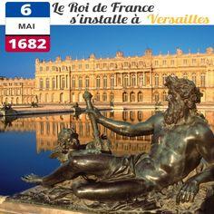le 6 mai 1682, le Roi Louis XIV s'installe à Versailles avec la Cour : au total ce sont 10 000 personnes dont 3000 courtisans qui emménagent au château, auxquels il faut ajouter les 35 000 ouvriers qui travaillent sur le chantier.