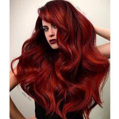 Dark, Fiery Red