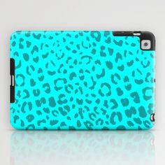 Blue leopard ipad case loving it so much xoxo Cute Ipad Cases, Ipad Mini Cases, Cool Cases, Cool Phone Cases, Iphone Case Covers, Ipad Covers, Ipad Mini Accessories, Aqua, Turquoise